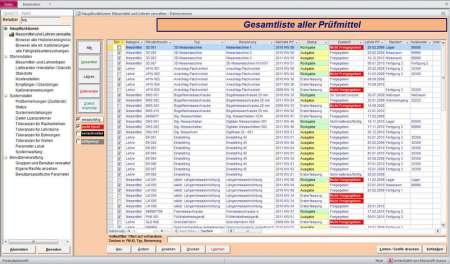 QuaPMM - Messmittel und Lehren verwalten